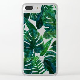Perceptive Dream || #society6 #tropical #buyart Clear iPhone Case