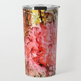 Colored Wood Three Travel Mug