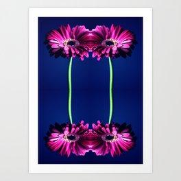 Gerbera Art Art Print