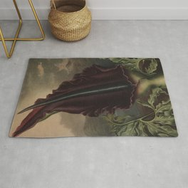 The Dragon Arum Temple of Flora Rug