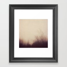 autumn atmosphere Framed Art Print