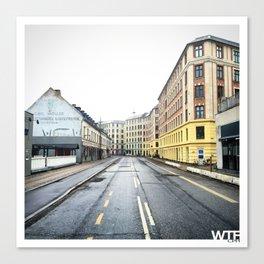 Sunday Morning, Vesterbro, Copenhagen Canvas Print