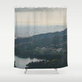 Hollywood Reservoir Shower Curtain