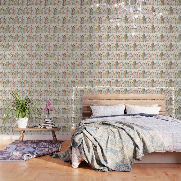 Happy garden Wallpaper