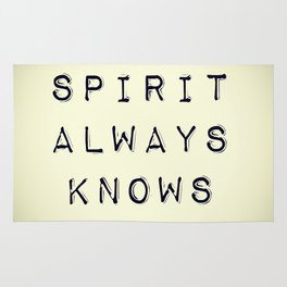 Spirit Always Knows Rug