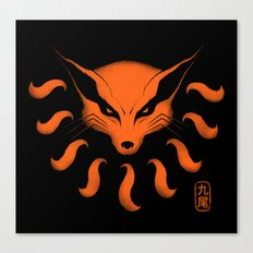 9 Tailed Beast Canvas Print