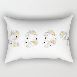 White Flower 2009 Rectangular Pillow