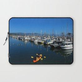 Pillar Piont Harbor at Half Moon Bay Laptop Sleeve