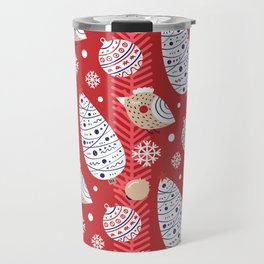 Merry birds Travel Mug