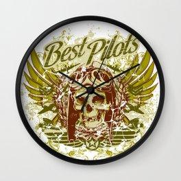 Best Pilots Wall Clock