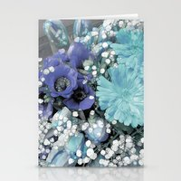 blues Stationery Cards featuring Blues by Joke Vermeer