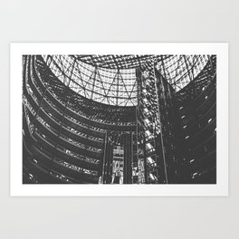 Shadows & Lines in Chicago Art Print