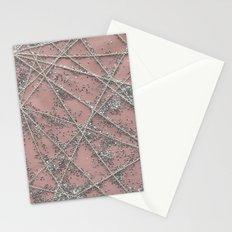 Sparkle Net Pink Stationery Cards