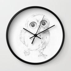Sweet Little Owl Wall Clock