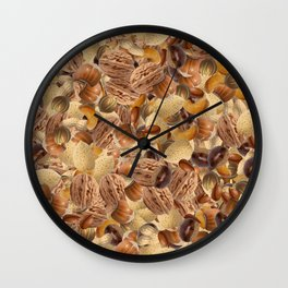 Mixed Nuts Wall Clock
