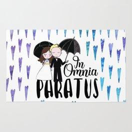 In Omnia Paratus Rug