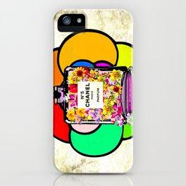 Flowers No 5 Parfum iPhone Case