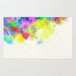 Paint Splashes Rug