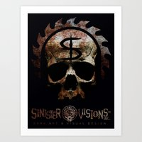 Sinister Visions Promo 2015 Art Print