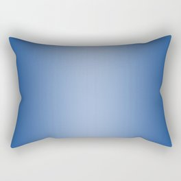 Blue to Pastel Blue Vertical Bilinear Gradient Rectangular Pillow