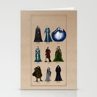 valar morghulis Stationery Cards featuring The Aratar by wolfanita