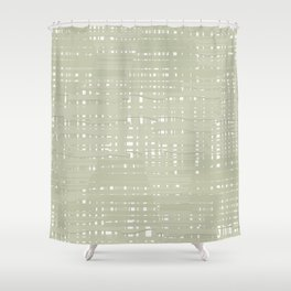 Green straw background Shower Curtain