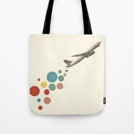 Leaving on a Jet Plane Tote Bag