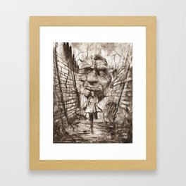 THE LABYRINTH 2 Framed Art Print