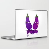 twins Laptop & iPad Skins featuring Twins by flydesign