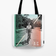 A.G. Collage Tote Bag