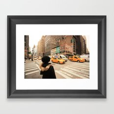 My NY diary Framed Art Print
