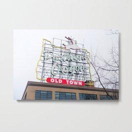 Welcome to Portland - Oregon Metal Print