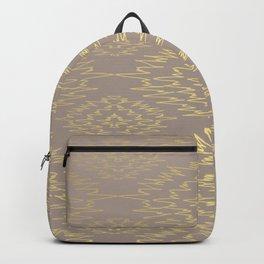 Golden Decoration Backpack
