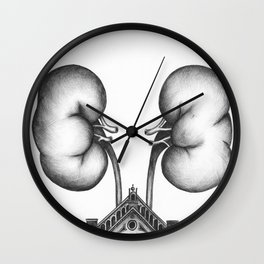 Each kidney has one million nephrons Wall Clock