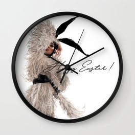 What's so funny, little bunny? Wall Clock