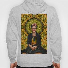 Frida Kahlo 3 Yellow Hoody