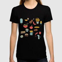 Food Frenzy white #homedecor T-shirt