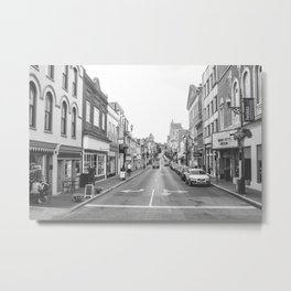 Downtown Staunton Metal Print