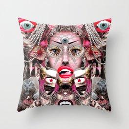 Pearl Queen Throw Pillow