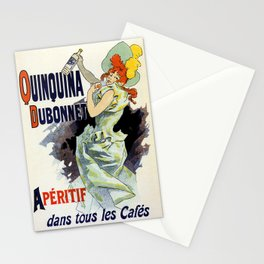 Apéritif Quinquina Dubonnet Stationery Cards