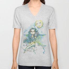 Lucky Mermaid Unisex V-Neck