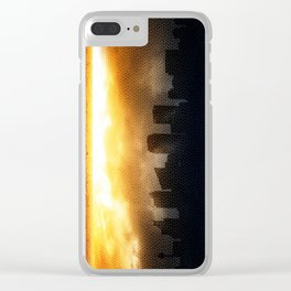 Sight Line Clear iPhone Case
