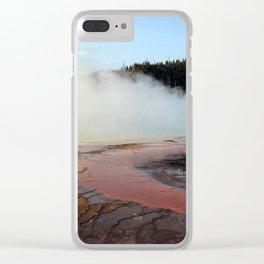 Grand Prismatic Clear iPhone Case