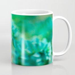 Green Succulent Mandala Coffee Mug