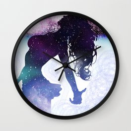 The universe inside Wall Clock