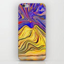 Vesuvio che brucia iPhone Skin