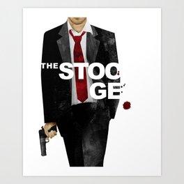 The Stooge Art Print