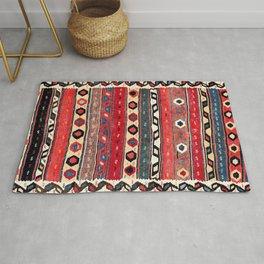Shahsavan  Antique Azerbaijan Persian Kilim Print Rug