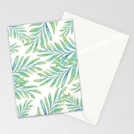 Tropical Palm Leaf 02 Stationery Cards