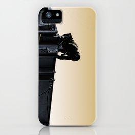 Steel worker iPhone Case